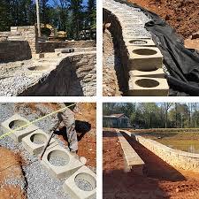 retaining wall block by heritage block