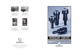 Substage Light Coupler Catalog 9 30 03 Manualzz Com