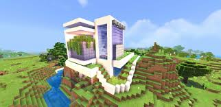 This is a random modern house i was working on. Download Map Modern House For Minecraft Pe Apk Planetmcpe