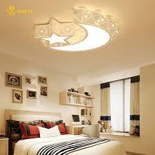 lighting for baby room. Creative Star Half Moon Led Ceiling Light 85-265V 24W Child Baby Room Lights Lighting For O