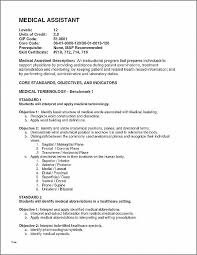Resume Lovely Medical Assistant Resumes Templates Medical Assistant