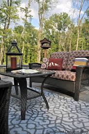 outdoor garden exotic gray outdoor rugs for patio with outdoor wicker furniture
