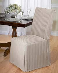 Dining Chair Cover Amazoncom Luxurious Dining Chair Cover Herringbone Beige Grey