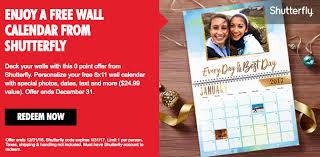 8x11 Calendar My Coke Rewards Free Shutterfly 8x11 Wall Calendar