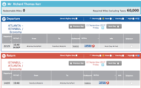 Turkish Airlines Redemption Chart All About Turkish Airlines Miles Smiles