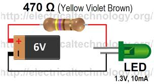 how to calculate the value of resistor for led led s circuits led simple circuit ever how to calculate the