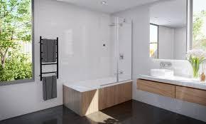 bath shower screen panel 1