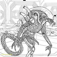Alien Coloring Pages 40194