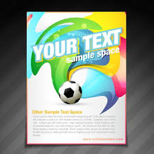 Football Brochure Flyer Poster Template Design - Download Free ...