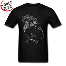Designer Rock T Shirts Us 7 32 40 Off Xxxtentacion Designer Figure T Shirts Rock Raper Band Tops T Shirt Geek Punk Heavy Metal Rock Club Men Tshirts 100 Cotton In
