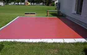 home elements and style medium size painting patio concrete slabs how to paint an outdoor painted
