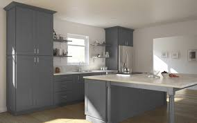 kitchen cabinet cool top rless light gray shaker