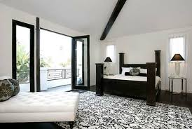 traditional furniture traditional black bedroom. Black And White Furniture Decorating Ideas : Traditional Bedroom Sofa Concrete Coffee C