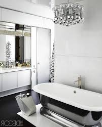 black white bathroom blinds black white high glossy finished wall mounted cabinet vertical striped pattern