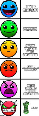 Geometry Dash Difficulty Faces Imgflip
