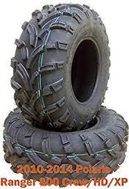 Set 2 Front Atv Tires 26x9 12 For 10 14 Polaris Ranger 800 Crew Hd Xp