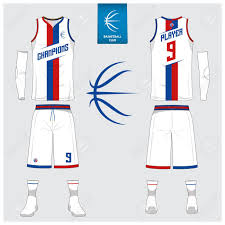 Shorts Design Template Basketball Uniform Or Sport Jersey Shorts Socks Template For