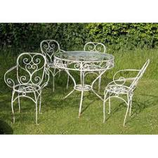 wrought iron garden furniture.  Garden Wrought Iron Garden Chair Set For Furniture