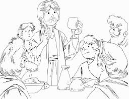 Small Picture Luxury Last Supper Coloring Page 87 With Additional Free Colouring