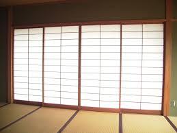 furniture tall zen shoji sliding door closet leading to bathroom room divider doors diy south
