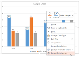 Chart Labels Format Data Label Options For Charts In Powerpoint 2013 For