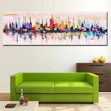 Living Room Oil Paintings 2017 Modern Living Room Decorative Oil Painting Hand Painted Large