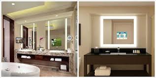 Bathroom Mirror Tv Canada Lighted For – buildmuscle