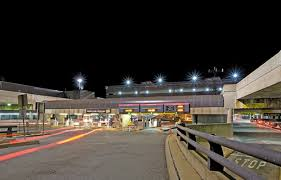 edward joy lighting center. general edward lawrence logan international airport - lighting entrance joy center g