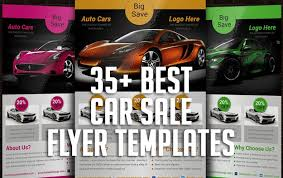 35 Best Car Sale Flyer Templates Graphic Design Resources