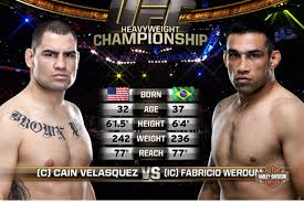ufc 216 free fight video watch fabricio werdum choke out cain velasquez at ufc 188