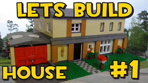 Lego Full House Lets Build Lego Family House 1 Planning It Out Youtube