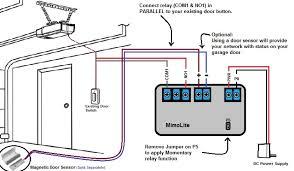 chamberlain garage door opener sensor wiring diagram inside garage door opener wire sensor wiring diagram how