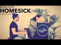dua lipa homesick piano cover