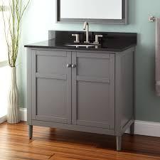half bathroom ideas gray. Sophisticated Half Bathroom Ideas With Single Vessel Sink Gray Vanity