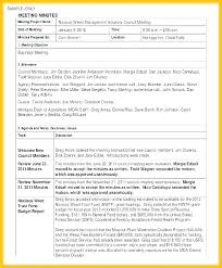 Meeting Minutes Template Microsoft Word 5 Best Meeting Minutes Templates Project Template Minute