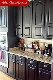 full size of kitchen charming diy painted black kitchen cabinets glamorous long square stained wooden