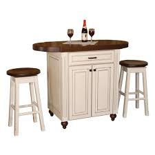 Movable Kitchen Island With Stools Portable Bar Rolling With Amys