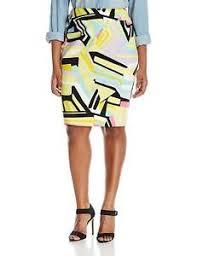 Nine West Plus Size Chart Details About Nine West Womens Plus Size Printed Slim Skirt
