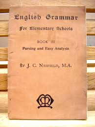 vine 1930s text book english grammar for elementary s j c nesfield pocket size paperback book grammar book by trooperslanebooks on