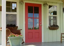 what color to paint front door 2Exterior Wood Door Decorating with Paint to Personalize House