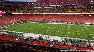 Fedex Field Club Level Seating Chart Fedexfield Seat View Fedexfield Section 341 Club Level Zone