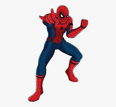 drawing spider man cartoon free