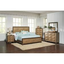 Apothecary Two-tone Mahogany Bed