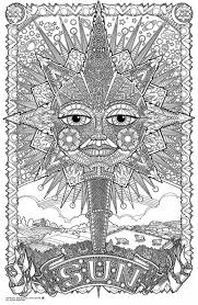 Small Picture Get This Difficult Trippy Coloring Pages for Grown Ups X8BR6