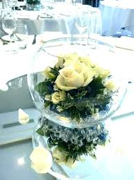 bowl centerpiece ideas fish decoration best centerpieces on mirror wedding fishbowl table glass