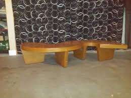 S Shaped Coffee Table Vintage Curvy S Shaped Coffee Table Antique Appraisal