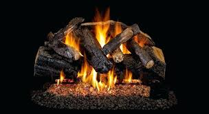 vent free fireplace logs 24 in vent free lp gas fireplace logs with remote