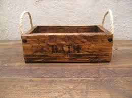 Handmade Bathroom Accessories Handmade Rustic Wooden Bathroom Accessories Storage Gift