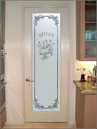 elegant frosted glass pantry door home depot interior doors etched dep