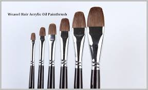 high quality professional artist brushes acrylic paint sets brushes for horse hair oil painting 102